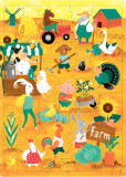 Пазл «Ферма» (30 слов)