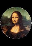 "Пазл ""Мона Лиза"" - 455 деталей"