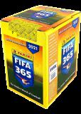 Наклейки коллекционные в боксе FIFA 365 - 2021 (50 пакетиков)
