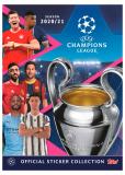 Альбом для коллекционирования наклеек Topps Лига Чемпионов УЕФА 2020/2021