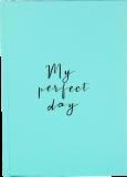 """Дневник """"My perfect day"""" (мятный)"""