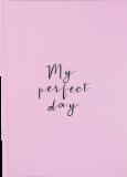 "Дневник ""My perfect day"" (светло-лавандовый)"